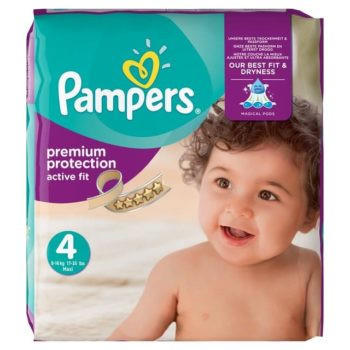 Pampers Premium Protection Nappies